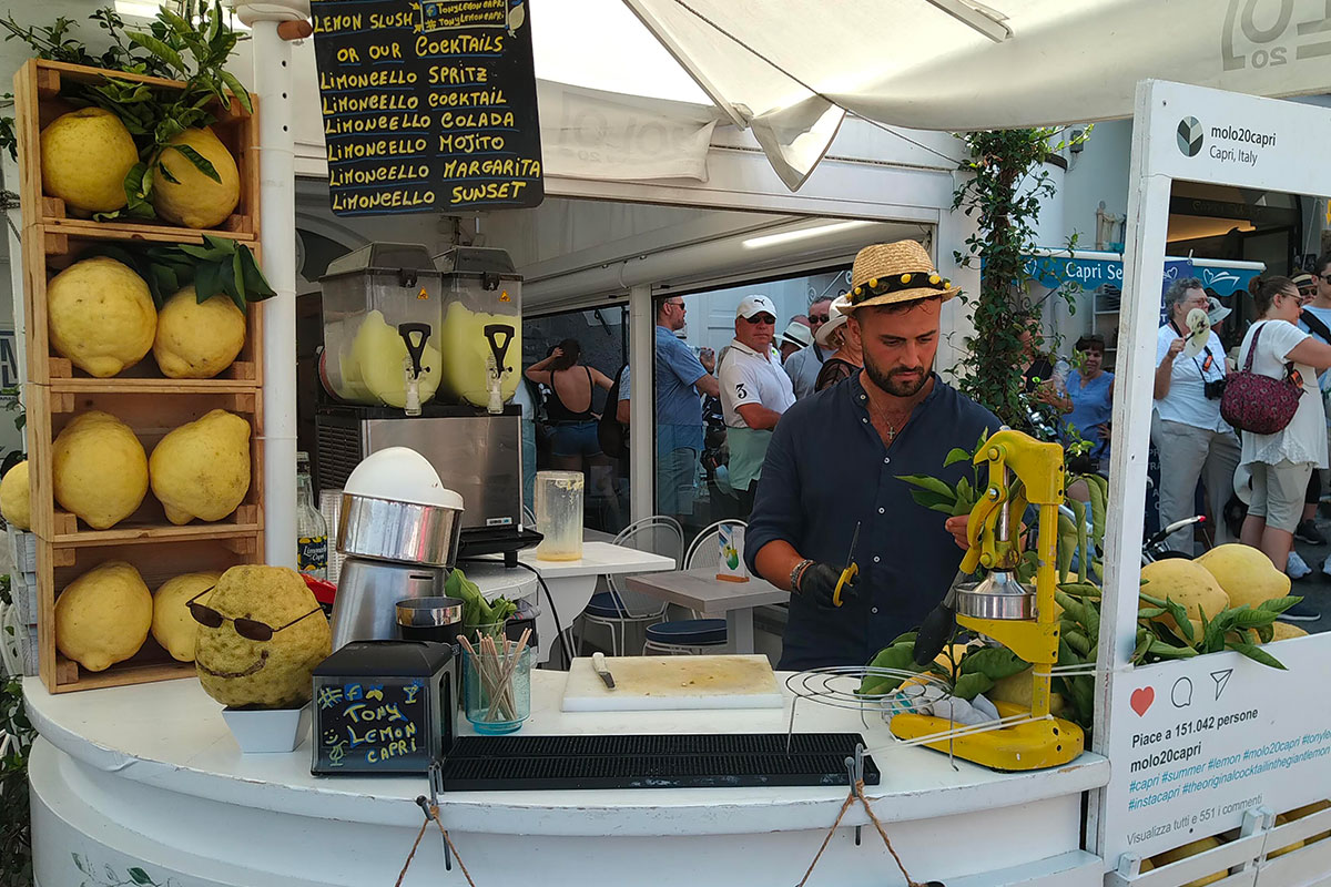 cocktail limoncello capri